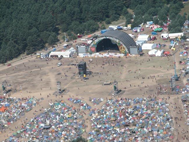 Na zdjęciu impreza Przystanek Woodstock 2004